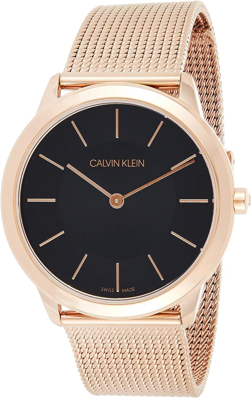 Calvin Klein Reloj Analógico para Mujer de Cuarzo con Correa en Acero Inoxidable K3M2262Y