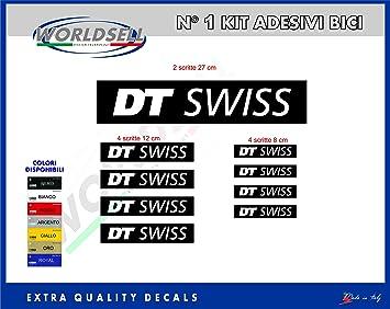 """WORLDSELL Kit Pegatina para Bicicleta 18"""" 1"""" DT Swiss Royal"""