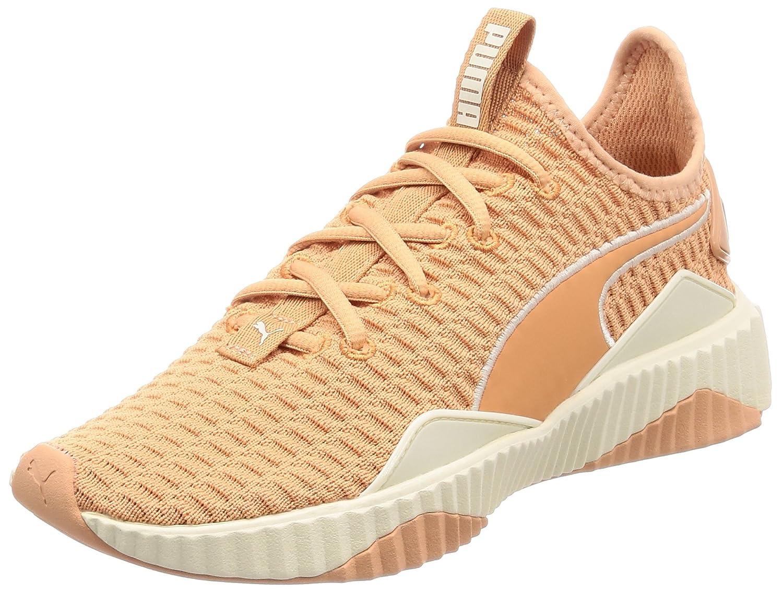 Puma Defy Wn's, Zapatillas de Deporte para Mujer 42 EU|Naranja (Dusty Coral-whisper White 05)