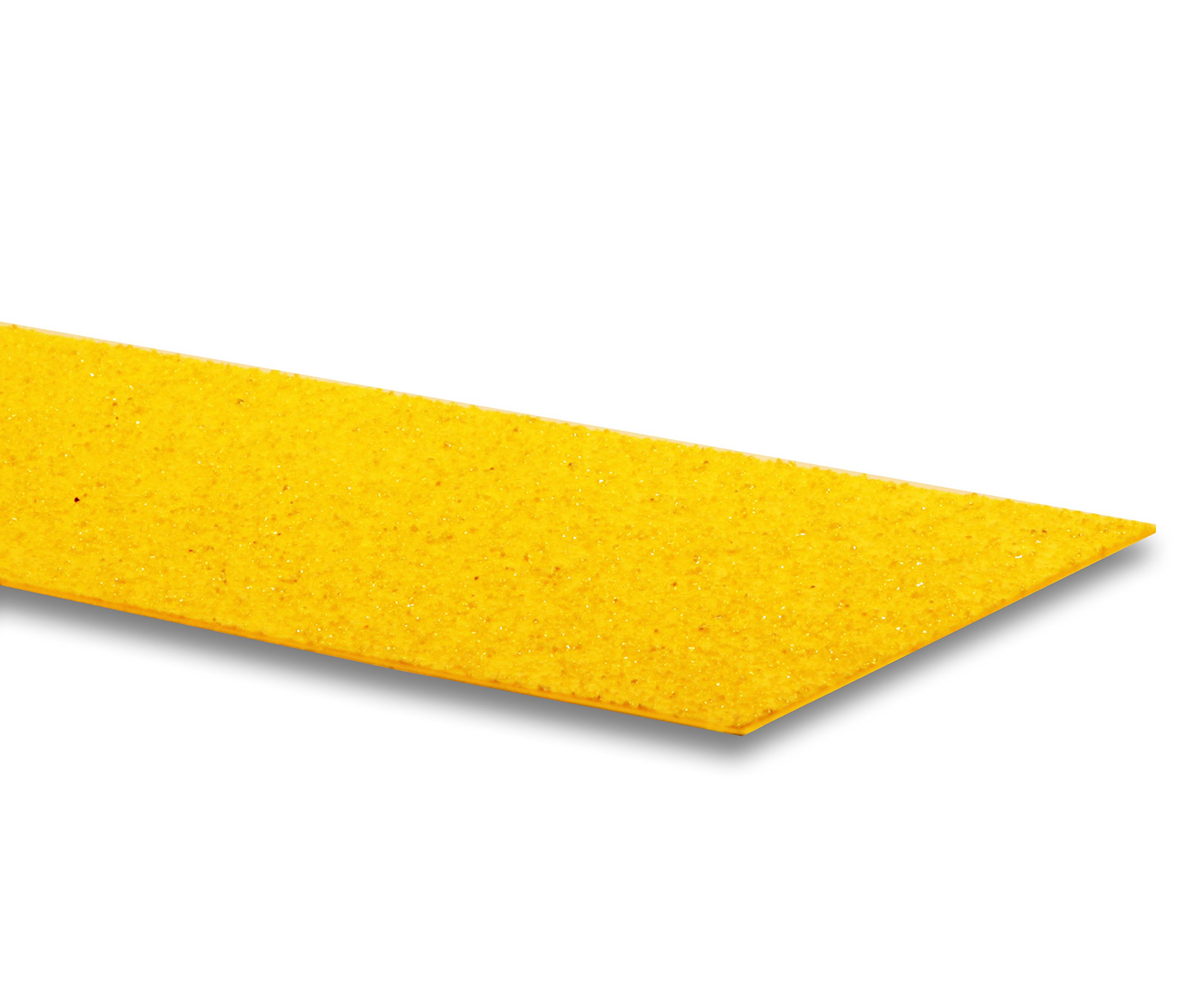 LavaGrip by GripAll. Yellow aggregate anti-slip product. 6'' x 48''