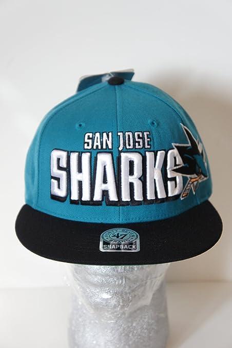 6290c0719f8690 Amazon.com: 47 Brand San Jose Sharks Snapback Hat: Everything Else