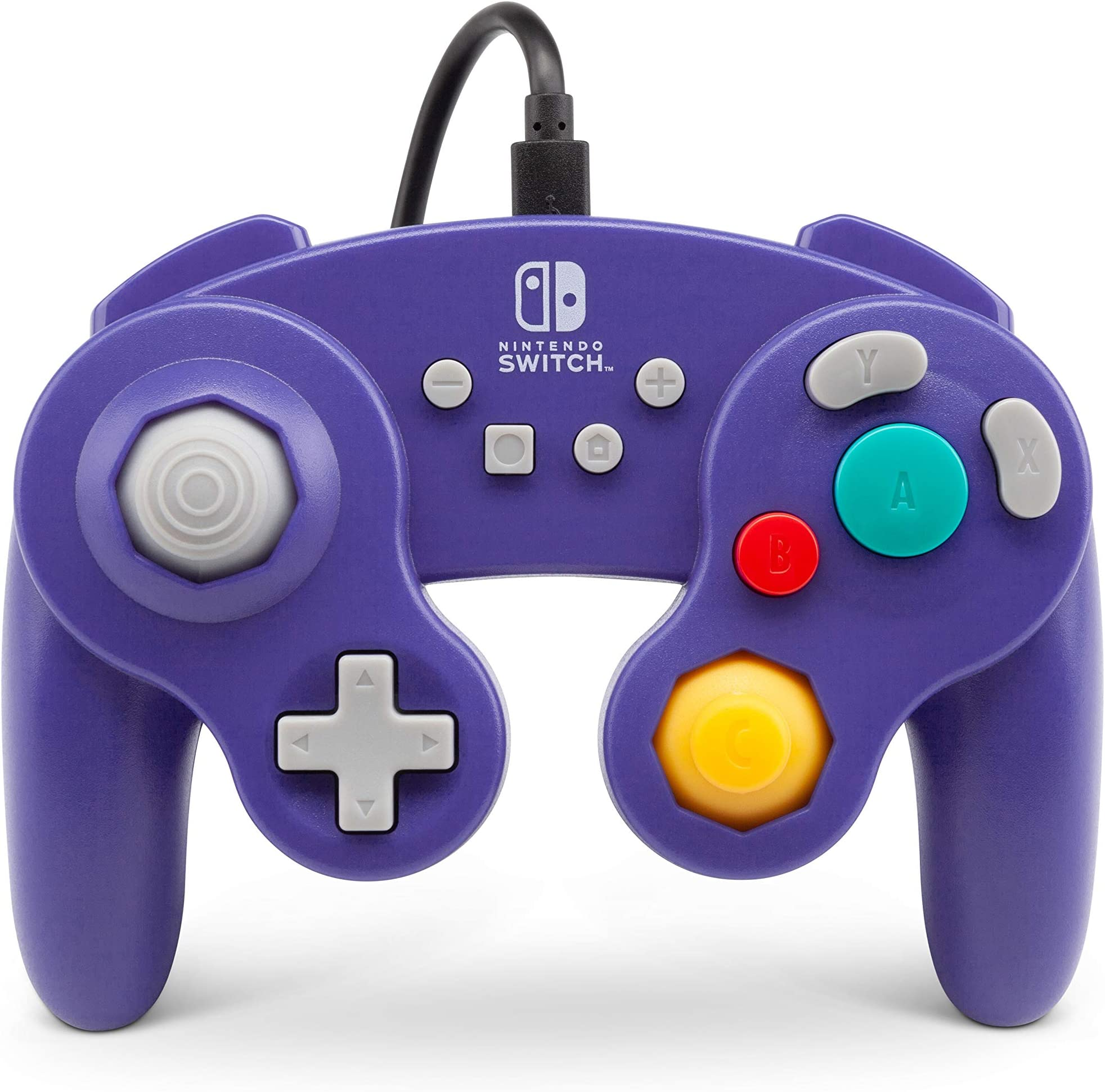 Power A Wired Controller For Nintendo Switch   Game Cube Style: Purple   Nintendo Switch by By          Power A