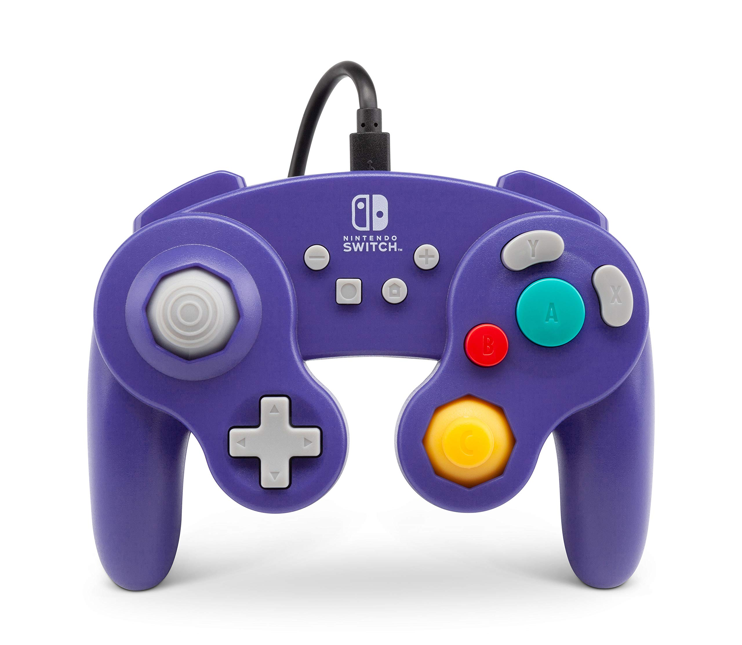 PowerA Wired Officially Licensed GameCube Style Controller/Super Smash Bros. Purple