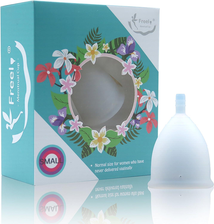 Freel - Copa menstrual de silicona de grado médico FMC2018-1P ...