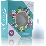 Freely Menstrual Cup,COLORANTS-FREE,Premium Quality Medical Grade Silicone,Alternative Solutions To Pads And Tampon,1 pack&Carry Bag,SMALL(20ml/0.7ounce