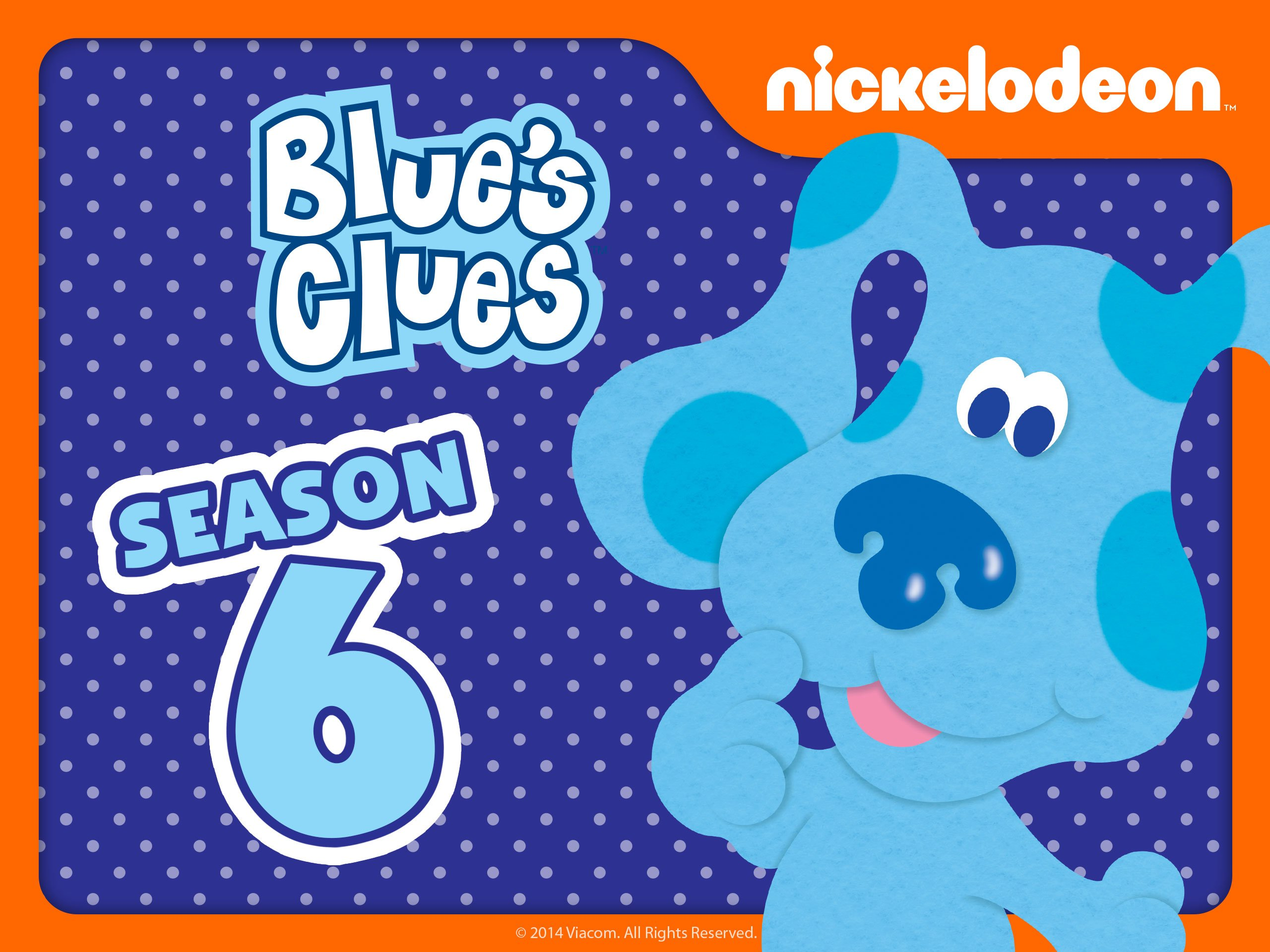 amazon com blue u0027s clues season 6 blue amazon digital services llc