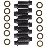 Milodon 85400 3/8' 6-Point Hex Head Intake Bolt Kit for Small Block Chevy, Small and Big Block Chrysler