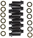 """Milodon 85400 3/8"""" 6-Point Hex Head Intake Bolt Kit for Small Block Chevy, Small and Big Block Chrysler"""