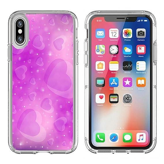 Amazon Com Luxlady Apple Iphone X Clear Case Soft Tpu