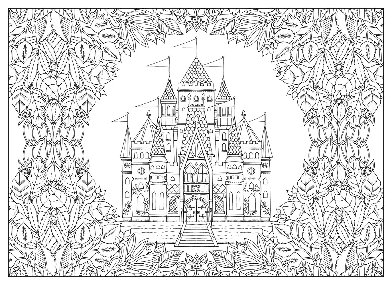 The enchanted forest coloring book uk - The Enchanted Forest Coloring Book Uk