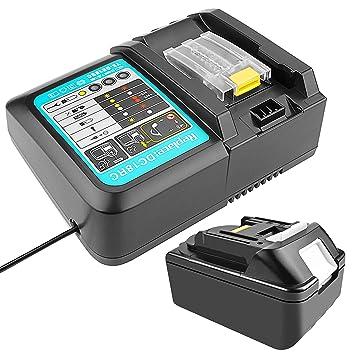 18 V 5.0 Ah BL1850 Batería con Cargador 3A Reemplazo para ...