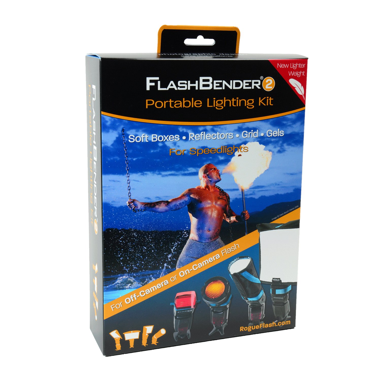 Rogue Photographic Design ROGUE Kit 2 FlashBender 2 Kit de iluminaci/ón port/átil
