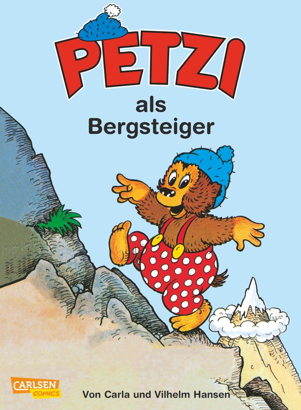 Petzi, Bd.8, Petzi als Bergsteiger
