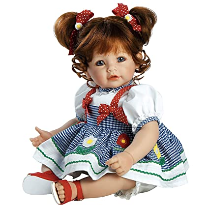 95220ec773 Image Unavailable. Image not available for. Color  Adora Toddler Daisy  Delight 20 quot  Girl Weighted Doll Gift Set for Children 6+ Huggable