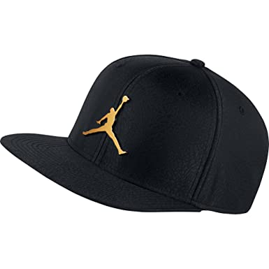 Nike Jordan Men's Jumpman Elephant Ingot Pro Adjustable Snap-Back Hat  AH1576-010 Black