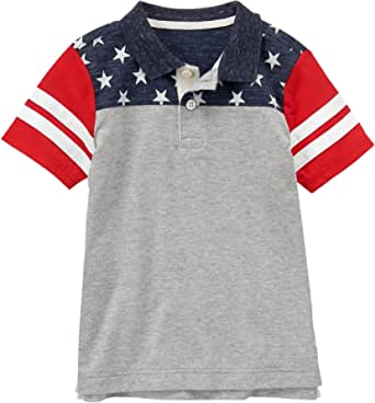 Yancorp Toddler Boys Polo Shirt Long Sleeve Tee Solid Color Size 2-6Yrs