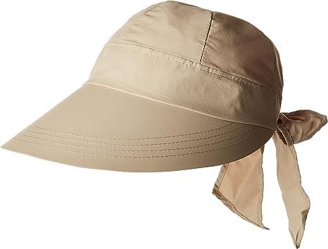 8c381ea945586 Stetson Women s No Fly Zone Face Saver Khaki One Size at Amazon ...