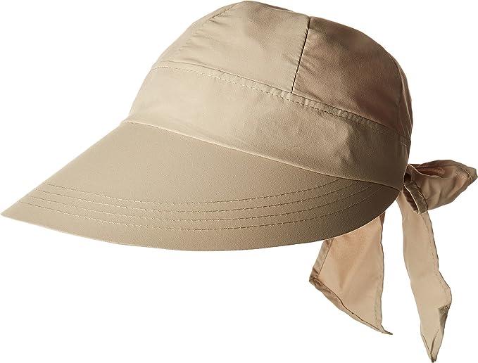 0034357e334 Stetson Women s No Fly Zone Face Saver Khaki One Size at Amazon ...