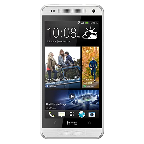 separation shoes 848b5 fc885 HTC One Mini 16GB 4G LTE Unlocked GSM Android Cell Phone - Silver - AT&T -  No Warranty