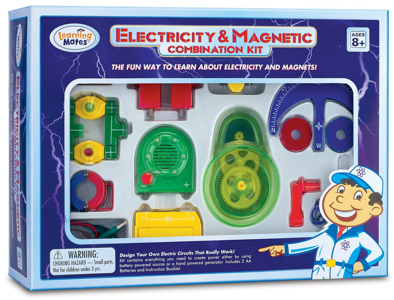 Electricity And Magnetic Combination Kit Toys Games Learning Circuits