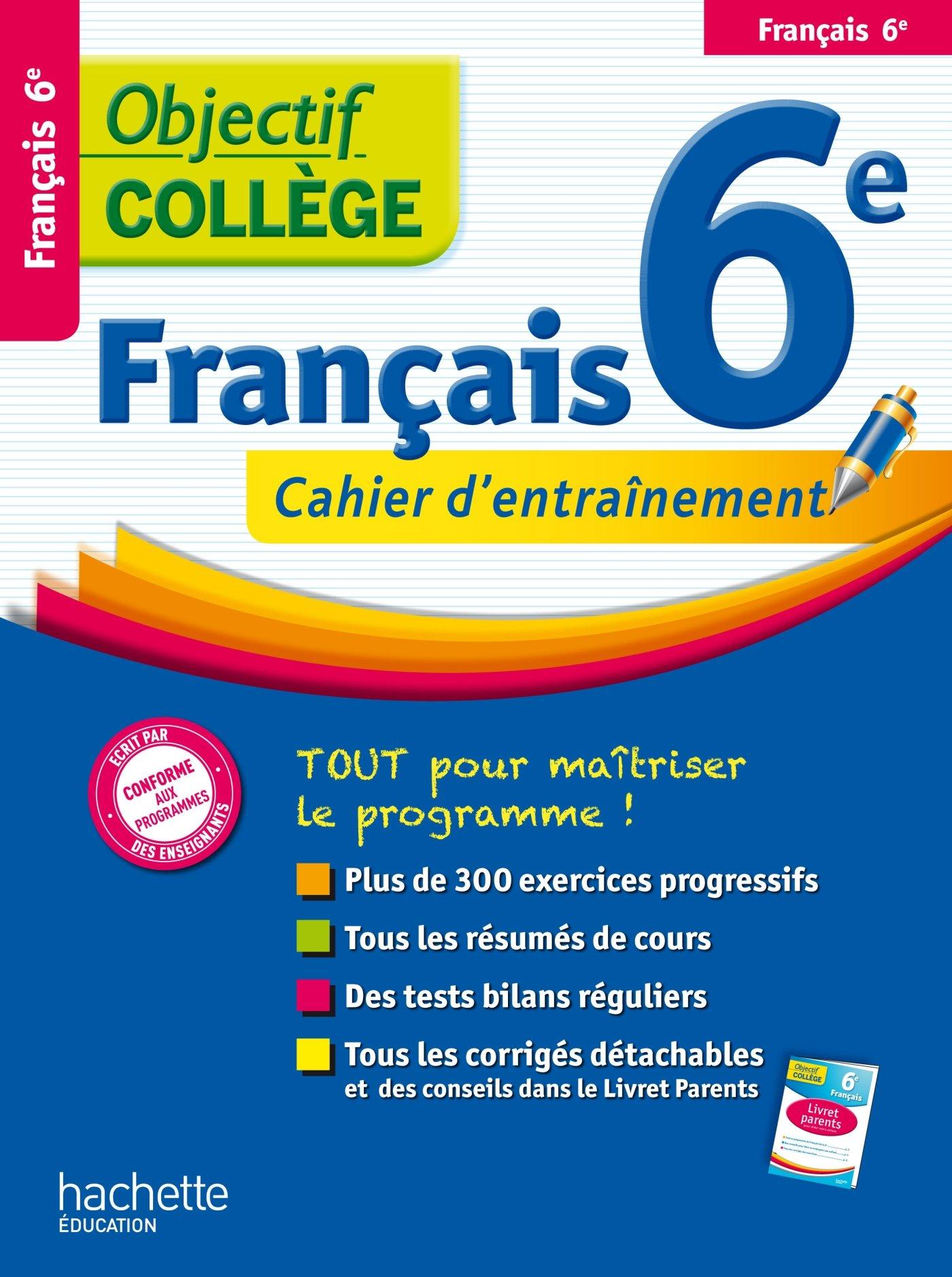 Amazon Fr Objectif College Francais 6eme Isabelle Lisle