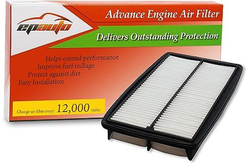 EPAuto GP013 (CA10013) Honda / Acura Replacement Extra Guard Rigid Panel Engine Air Filter for Odyssey (2005-2010), Pilot (2009-2015), MDX (2007-2009)