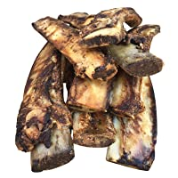 K9 Connoisseur Single Ingredient Dog Bones Made in USA from Grass Fed Cattle 8 to 10 Inch Long All Natural Meaty Rib Marrow Filled Bone Chew Treat Best for Medium Breed Dogs Best Upto 50 Pounds