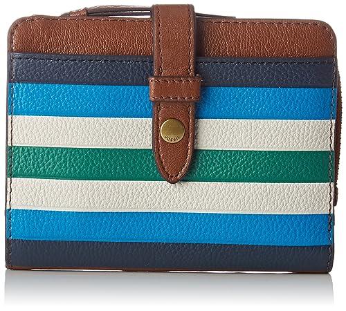 Fossil - Damentasche ? Fiona Multifunktionale Tasche, Carteras Mujer, Azul (Blue),