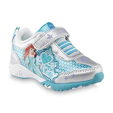 e92ea84107c67f Disney Toddler Girl s Ariel Little Mermaid Sneaker ...