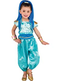 Rubies Costume Shimmer and Shine Deluxe-Shine Costume, Small