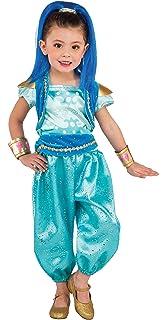 Shimmer & Shine - Disfraz de Shimmer para niña, infantil 5-6 años ...