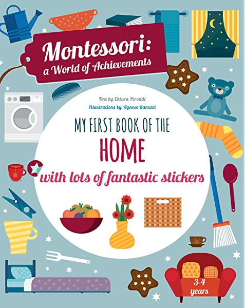 My First Book Of The Home With Lots Of Fantastic Stickers