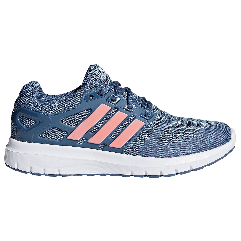 Adidas Energy Cloud V, Zapatillas de Running para Mujer 40 EU|Gris (Raw Grey/Clear Orange/Tech Ink 0)