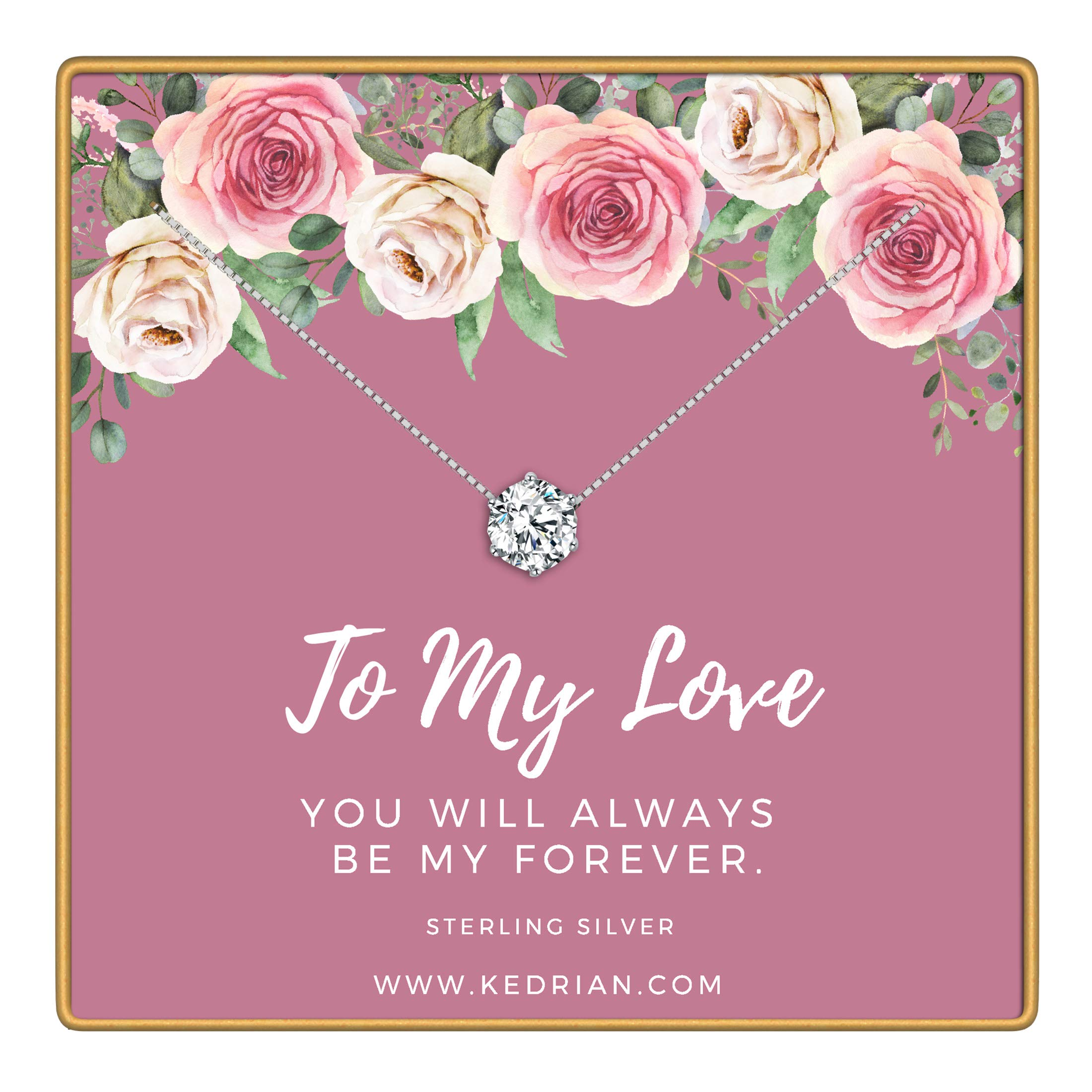 Girlfriend Gifts For Women Wife Gift Love Necklace Pendant Necklaces Mothers Day Birthday Ideas
