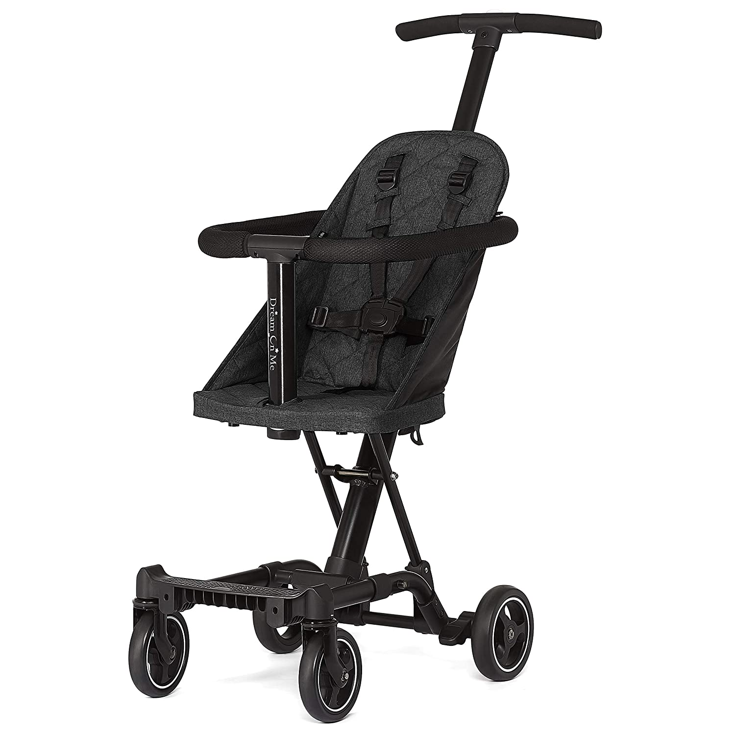 Dream On Me Coast Stroller Rider, Black