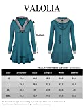 VALOLIA Sweatshirts for Women, V Neck Long Sleeve