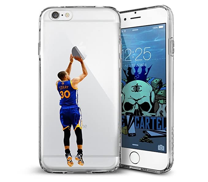 newest 6c455 05bed Amazon.com: Steph Curry Step Back Iphone Case (6+, 6s+): Cell Phones ...