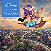 Disney Dreams Collection by Thomas Kinkade Studios: 2021 Mini Wall Calendar
