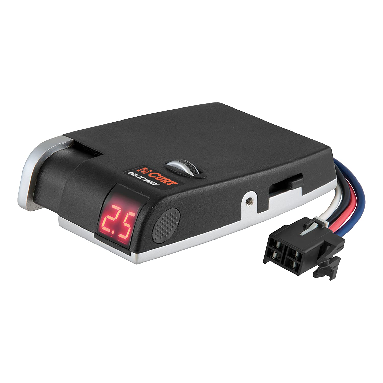 51515 /& 51120 CURT Discovery Brake Controller /& Wiring Kit for 07-13 Silverado /& Sierra