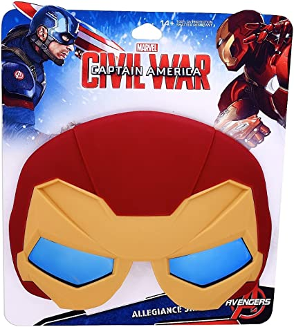 Marvel Civil War Captain America Iron Man UV//Shatter Resistant Allegiance Shades