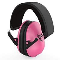 My Happy Tot Noise Reduction Earmuffs for Infants and Children. Hearing Protection Headphones, Fully Adjustable for 0-12 yrs. Low Profile Cups, Padded 'Snug Fit' Professional Earmuffs for Kids.