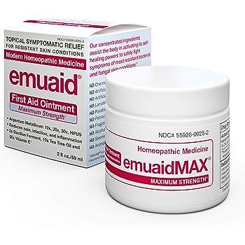 Amazon Com Emuaidmax 174 Ointment Antifungal Eczema Cream