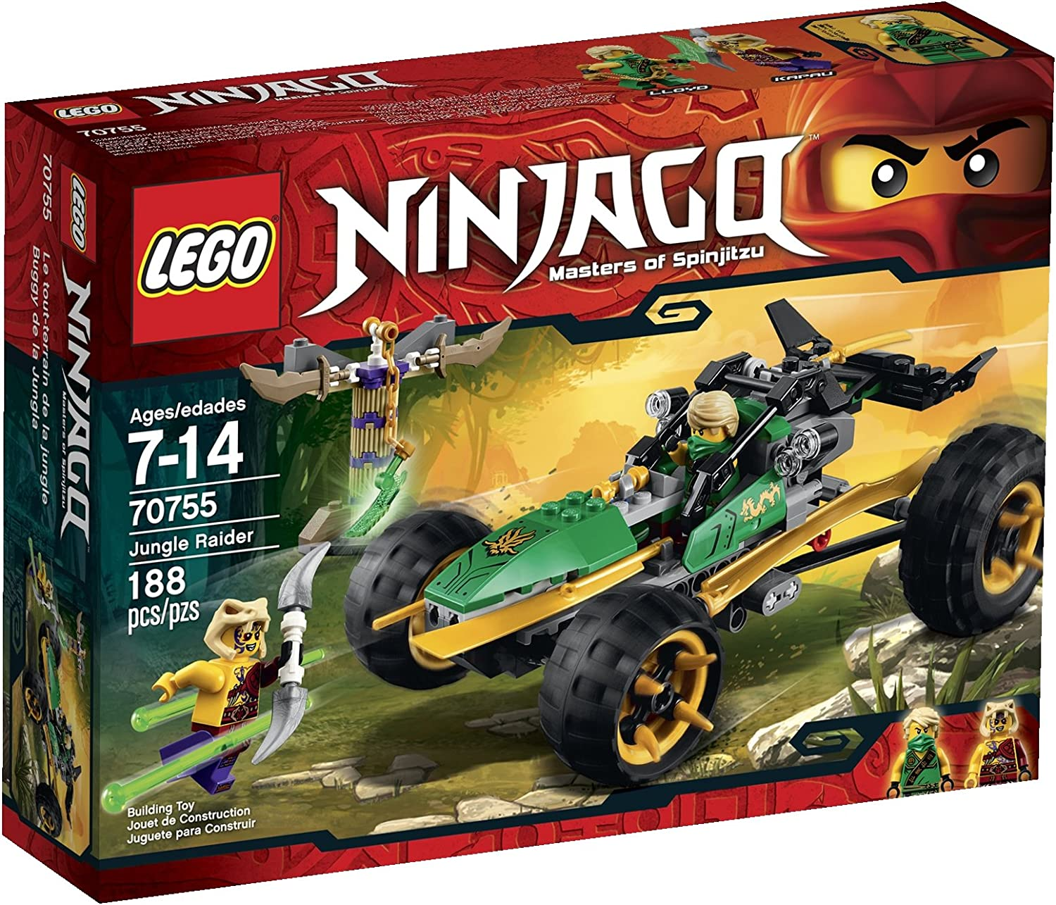 LEGO Ninjago Jungle Raider Toy (Discontinued by manufacturer)