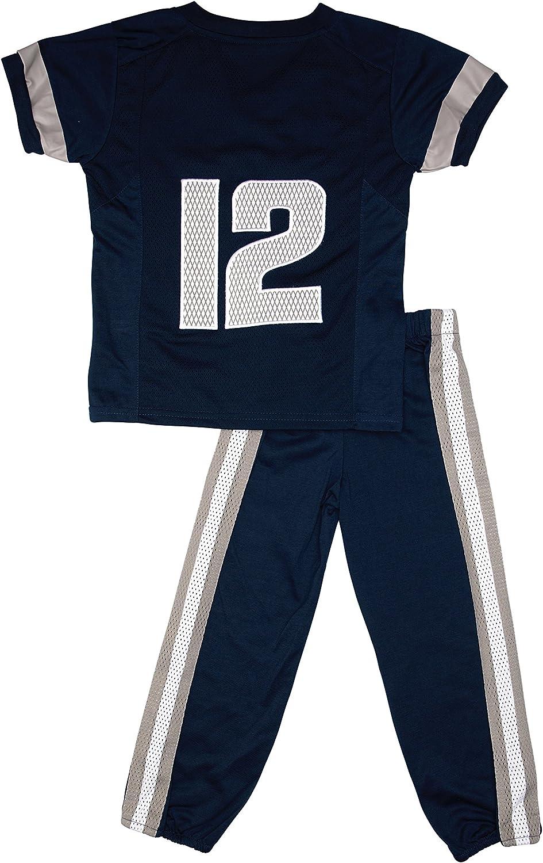 Fast Asleep Utah State Aggies Uniform Pajama Set New 4T