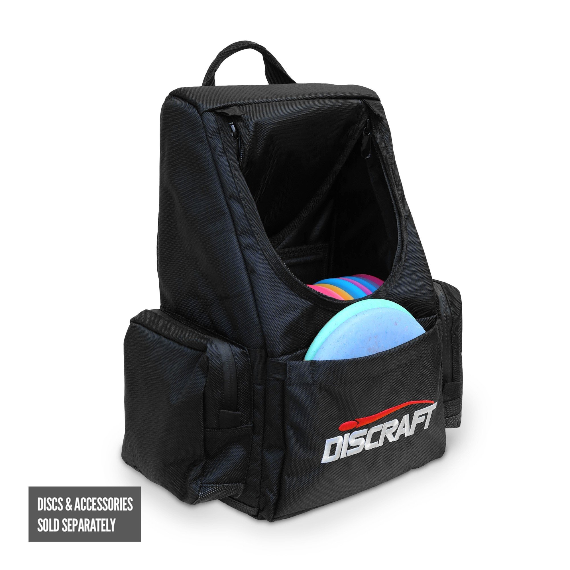 Discraft Disc Golf Bag Backpack Tournament Bag, Black by Discraft