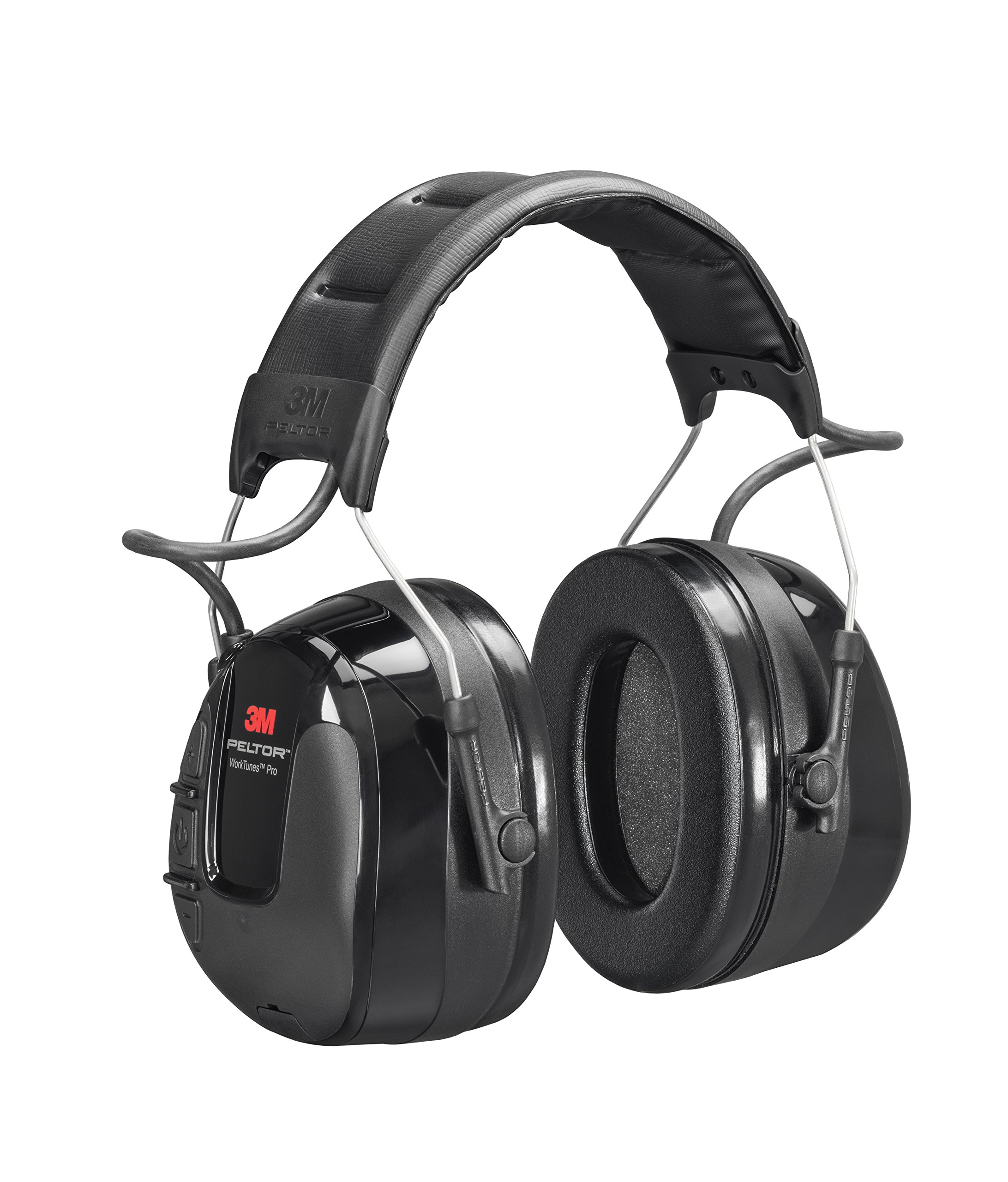 3M 67086 PELTOR WorkTunes Pro AM/FM Radio Headset, Headband, One Size by 3M Personal Protective Equipment (Image #1)
