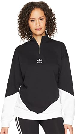 d021c5a6 adidas Originals Womens CLRDO Sweatshirt at Amazon Women's Clothing ...