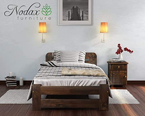 New Solid Wooden Pine Bed Frame with plywood slats\