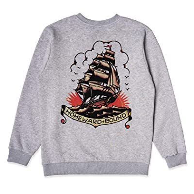 Sailor Jerry X Bad Monday Homeward Bound Crew XX-Large Grey at Men's Clothing store