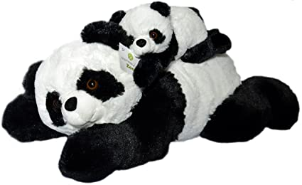 Amazon Com Super Soft Giant Panda Bears Stuffed Animals Set By